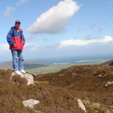 Hillwalking in the Urris Hills
