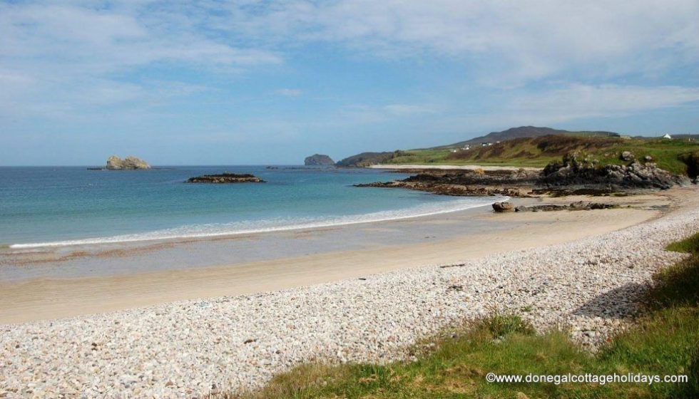 Beach near Drim Cottage at Malin Head