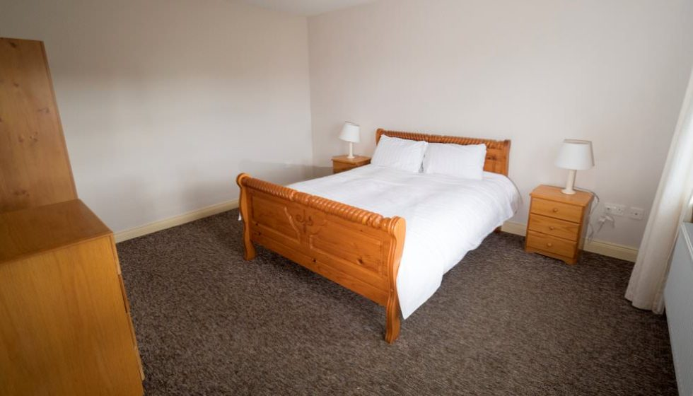 Drim Holiday Cottage Malin Head - double bedroom