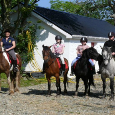 Pony Trekking at Malin
